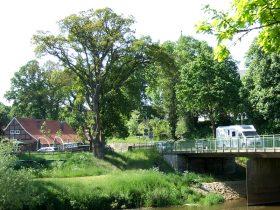Brücke und Gasthaus in Bokeloh bei Meppen