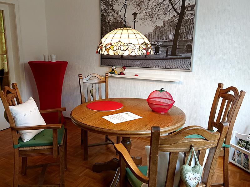 Ansicht: Ferienhaus Hasetal - Esszimmer