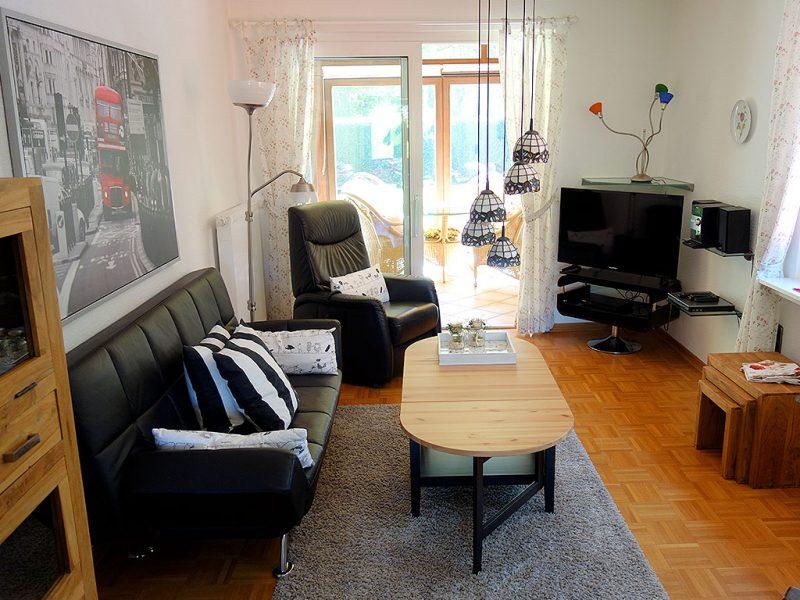 Ansicht des Wohnzimmers